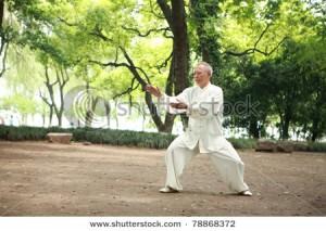 太極拳の老人